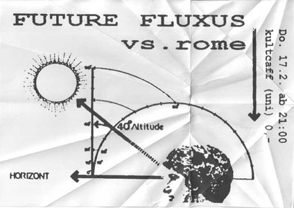 Future Fluxus vs. Rome